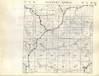 Hickory Grove T7N-R2W, Grant County 1948